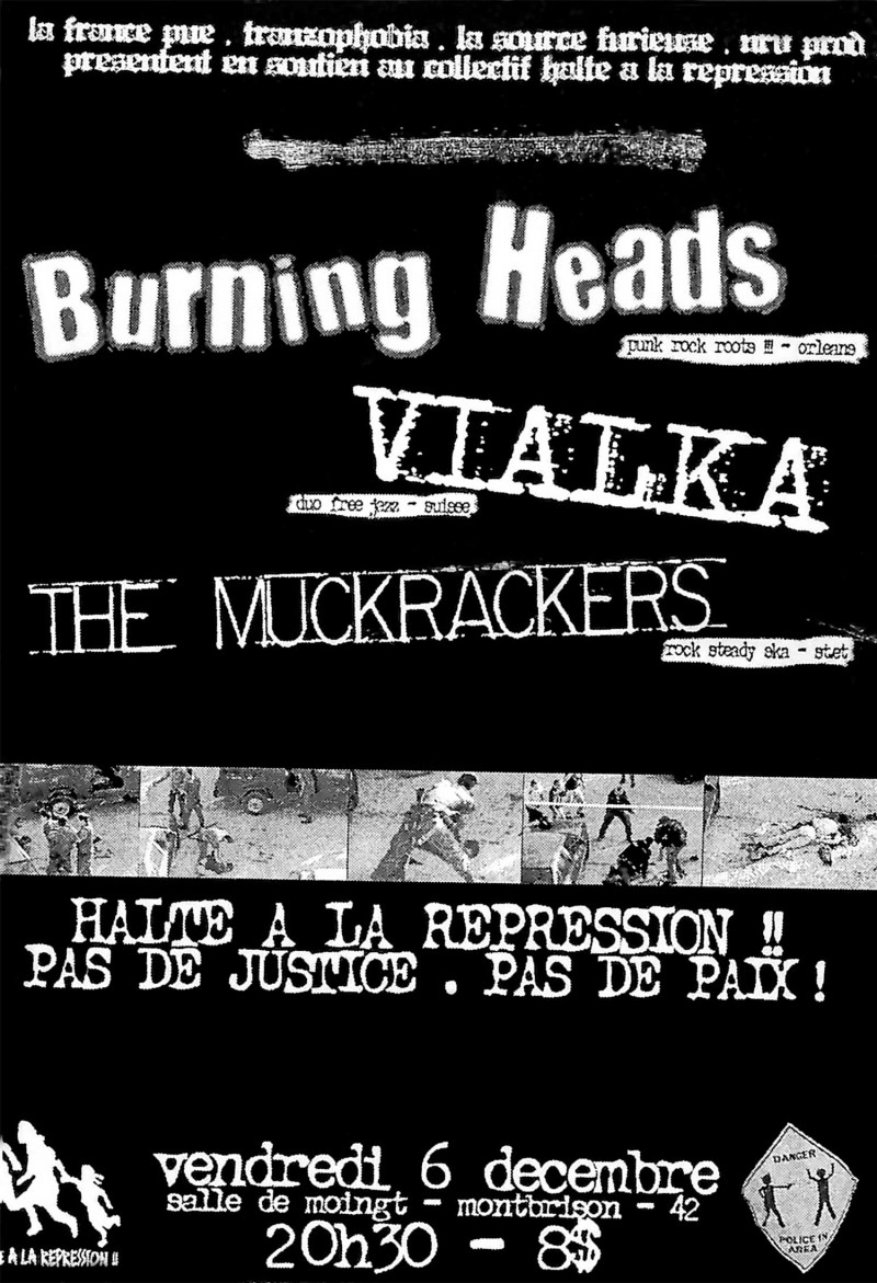06/12/2002 - Burning Heads + Vialka + The Muckrackers @ Moingt