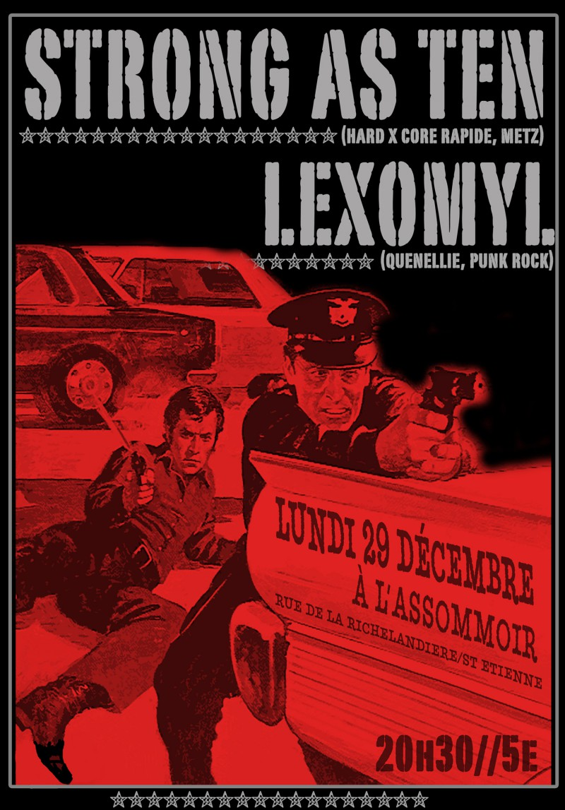 29/12/2008 - Strong As Ten + Lexomyl @ St-Etienne (L'Assommoir)
